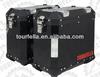 Tourfella Motorcycl side box 41L/35L/29L , Coated black, Aluminum