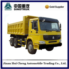 howo 6*4 diesel tipper truck for sale