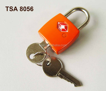 Master key Lock 8056 TSA accepted, travel key padlock TSA