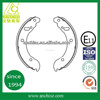 top quality semi-metal organic brake shoes for light trucks