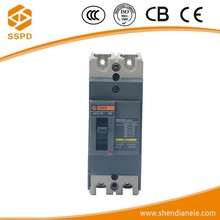 Passed CCC and CE certification CEZC 2 pole MCCB mccb circuit breaker 60a