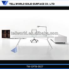 Simple office desk, office furniture