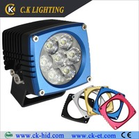 high intensity offroad light of led 4wd use agricultural machine lights
