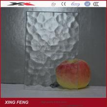 Decoration glass/Art glass/glue chip pattern glass for kitchen 4mm 5mm 6mm
