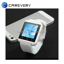 Latest price cheap U8 smart bluetooth watch mobile phone with touch screen