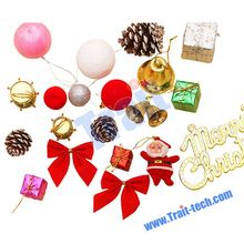 2015 New Product Christmas Accessories, Classic ChristmasTree Hanging Decorations Kit Big Packs
