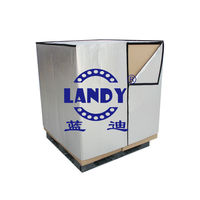 Insulated pallet cover for transportation