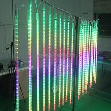 RGB DMX LED Meteror Starfall Tube Light for Indoor/Outdoor Lighting