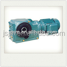 High quality K Series torque arm mounted helical bevel gear units/hollow shaft