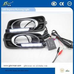 Aftersale Specific led daytime running light for Honda City 2012-2013 led light / led driver light