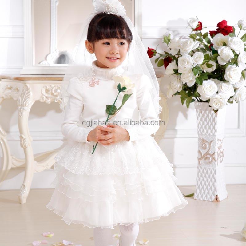 Newest 2015 Children Wedding Dress Little Bride Wedding Dress - Buy ...
