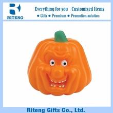 fashionable gift PU stress toy pumpkin