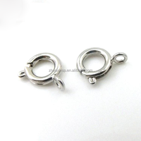 jewelry findings stainless steel spring clasp for necklace