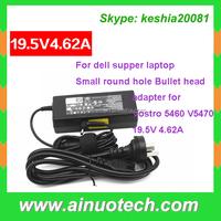 ac dc adapter 220v to 12v for dell Vostro 5460 V5470 19.5V 4.62A laptop charger power bank