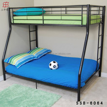 Metal Double Futon Bunk Bed for Living Room