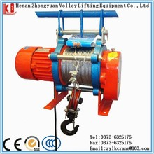Hot sale small electrical hoist series from Lingkong machinery