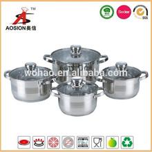 china proveedor de acero inoxidable ollas de cocina comerciales