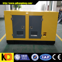 Silent cabinet proof diesel generator 100kva genset with cummins engine