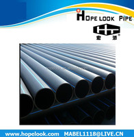 China ISO4427/AS/NZS4130 hdpe pipe pn10 for water supply