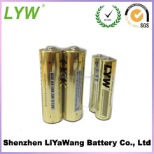 1.5V Nominal Voltage Crazy price lr6 aa alkaline batteries