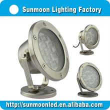 Stainless steel led underwater dock lights 3w 6w 9w 12w 18w 24w 36w