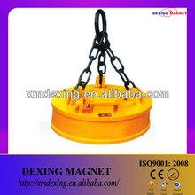 circular lifting electromagnet for crane