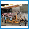 Bicicletas de pedales de cuatro ruedas .Cuadriciclo