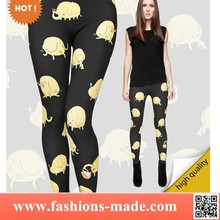 Cute Leggings Print Tree Trunks