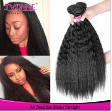 Brazilian kinky straight yaki hair weave, cheap remy hair extensions
