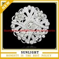 2015 de plata de moda dama de boda baratos broches