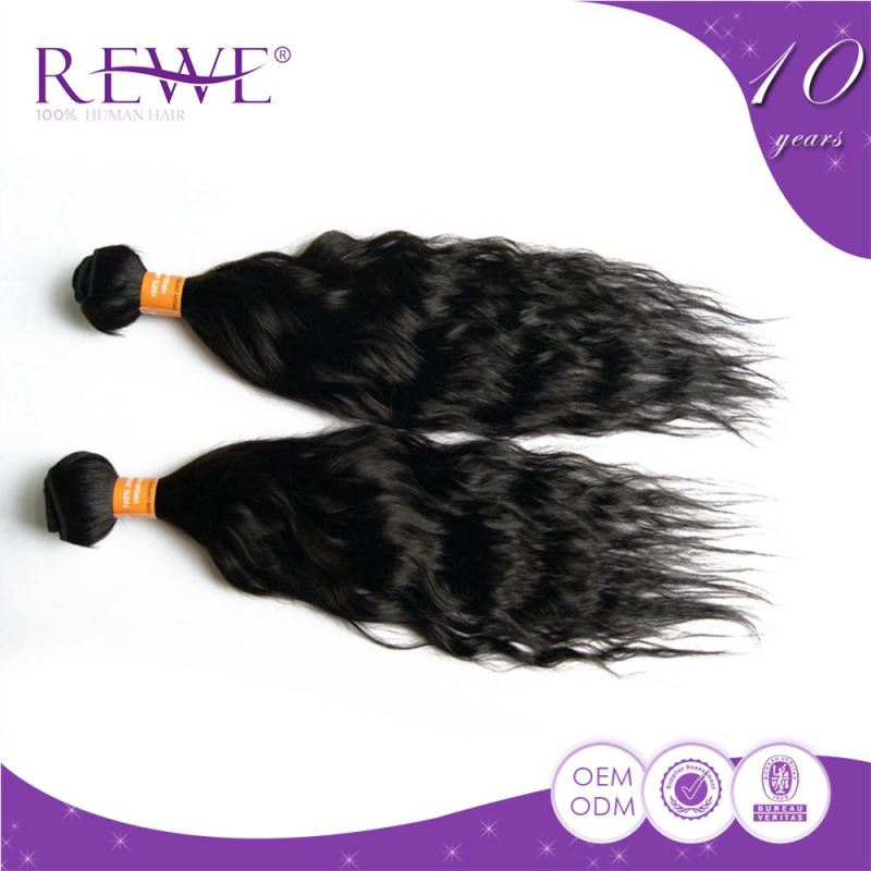 Crochet Hair Tangle Free : ... tangle free braids crochet indian remy ocean wave hair with human hair