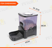 10.6L electronic large automatic pet feeder