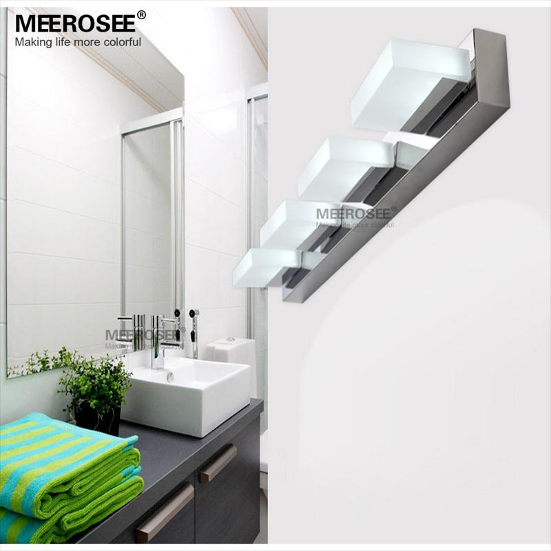 Dressing Room Wall Lights : Popular Bathroom wall lamp 4 lights acrylic light Dressing room led Mirror lights MD81074-L5