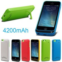 Hot selling 4200AH Wholesale China Battery Replacement Back Cover Case for iPhone 5 Battery Case