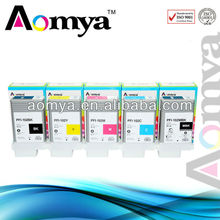 With imported chip+refillable ink cartridge for canon ipf 605
