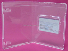 Promotional transparent card box 14mm Financial Cards case