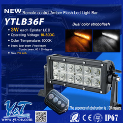 New style high quality top grade led flash light bar