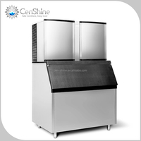 Most Durable Fully Automatic Ice Maker With Water Cooler To Ensure Clear Manufactured Ice