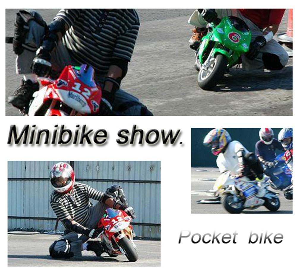 Enfants/enfants 49cc gaz puissance mini pocket bike dirt bike