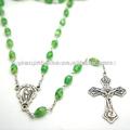 De color verde santo rosario rosario católico, jbh201401-33