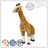 2015 perfect design and high quality large giraffe stuffed animal