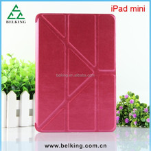 Ultra Slim Magnetic Smart Cover Case for iPad mini, for iPad mini Leather Auto Sleep Wake Function Case