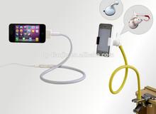 cuello de cisne flexible soporte para teléfono móvil