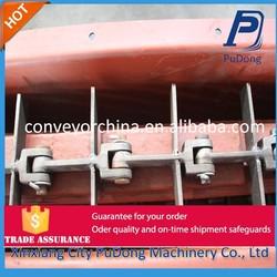 High efficient design of slat chain conveyor