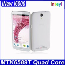 Original iNew i6000 MTK6589T Quad Core 1.5GHz Android 4.4.2 Phone 1GB/ 2GB RAM 16GB/ 32GB ROM 6.5 inch Screen FHD iNew Mobile
