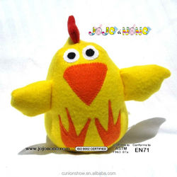 soft stuffed chicken toy plush custom cheap shrilling chicken toy