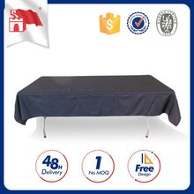 Customized Logo Big Price Drop No Moq Tablecloth Round Rosette