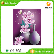 Manufactures Chinese style canvas decorative magnolia modren 5d diy diamond painting