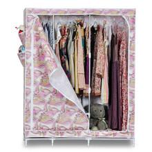 Sw de diseño moderno de la moda no- tejido super grande totalmente montar armario ropero con puerta
