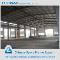 Curved Sandwich Panel Roof Steel Structure Shed For Sale